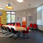 Zaal in Buurthuis Sterrenzicht voor Het Leerstation, vakinhoudelijke studiebegeleiding voor iedereen in Utrecht